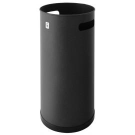 Paraguero Hogar 50X21,5Cm Metal Negro Cilindro