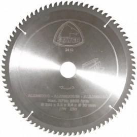 Disco Corte Aluminio 80 Dientes 250X3,2X30 Mm Widia Stayer