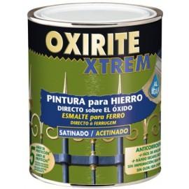 Esmalte Antioxidante Satinado  750 Ml Negro  Exterior Oxirite