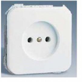Base Enchufe Electricidad Bipolar Blanco Nieve Serie 31 31431-60 Simon