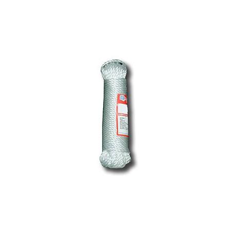 Cuerda Trenzada  05Mm Polietileno  Blanco  H.Perio 20 Mt
