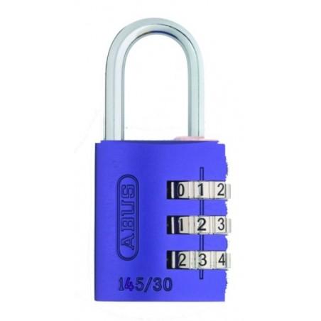 Candado Seguridad  30Mm Combinacion Programable Lila Abus