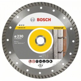 Disco Corte General Obra 230X22,2 Mm Turbo Diamante  Upe-T Bosch