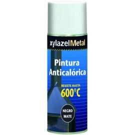 Pintura Anticalorica 400 Ml Negro Xylazel