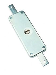 Cerradura Metalica 11A Hierro Cincado Puerta Metalica Enrrollable Yale