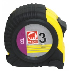 Flexometro Medicion  Con Freno  06Mt-25,0Mm Funda Goma Medid