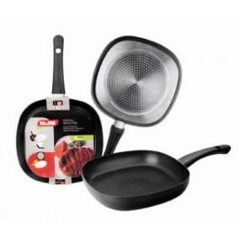 Sarten Cocina Grill 26X26Cm Liso Indubasic Alu.Forj Ibili