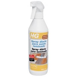 Limpiador Polvo Suelo Laminado Uso Diario Spray Hg 500 Ml