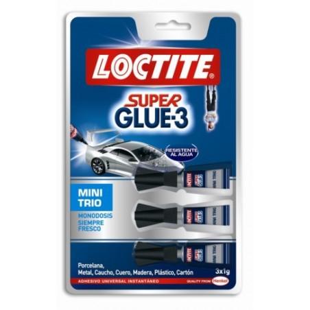 Pegamento Instantaneo 1 Gramo Super Glue3 3 Tubos Loctite
