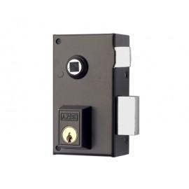 Cerradura Sobreponer 60X35Mm 56B60Dhp Hierro Pintado Picaporte/Palanca Derecha Yale