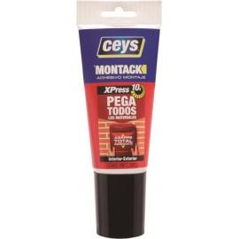 Adhesivo Montaje 170 Ml Montack Express Tubo Ceys