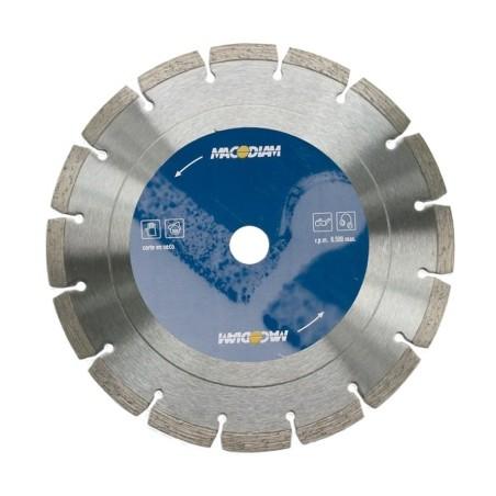 Disco Corte General Obra 230X2X10 Mm Diamante  MacoDiamante