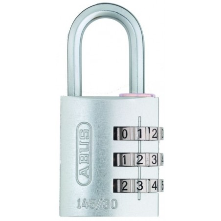 Candado Seguridad  20Mm Combinacion Programable Plata Abus