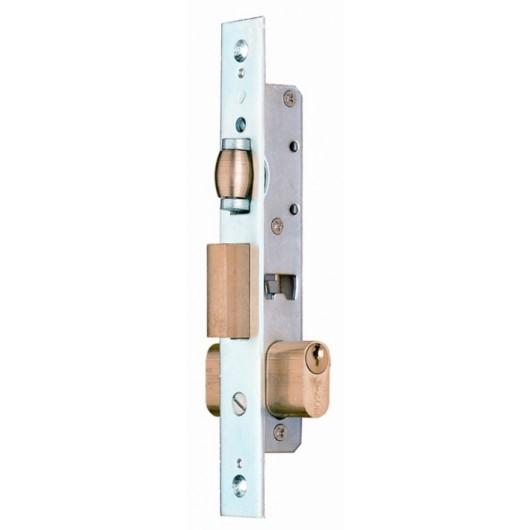Cerradura Metalica Embutir 23X14Mm 5551 Niquel Rodillo/Palanca  Lince