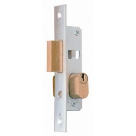 Cerradura Metalica Embutir 23X14Mm 5552 Niquel Picaporte Lince