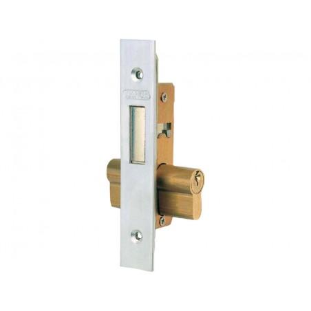 Cerradura Metalica Embutir 23X15Mm 5552N Niquel Picaporte Lince
