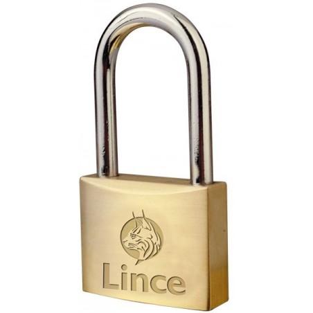Candado Seguridad  30Mm Arco Corto Laton Lince
