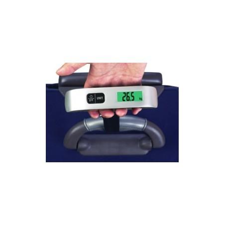 Bascula Pesamaletas Digital Max.50Kg Bateria Litio Ilsa