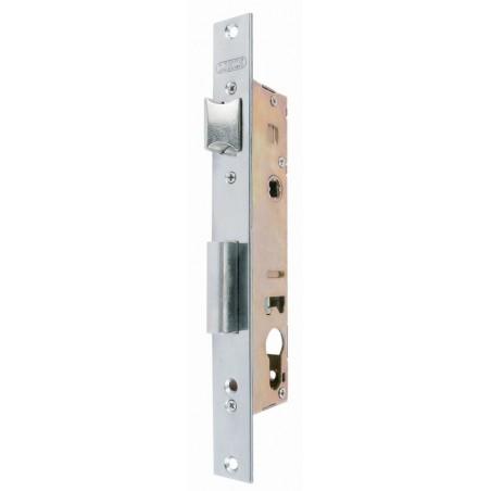 Cerradura Metalica Embutir 25Mm 5530/25 Inox Con Resbalon Lince