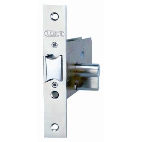 Cerradura Metalica Embutir 23X70Mm 5557/70 Inox Zocalo Lince