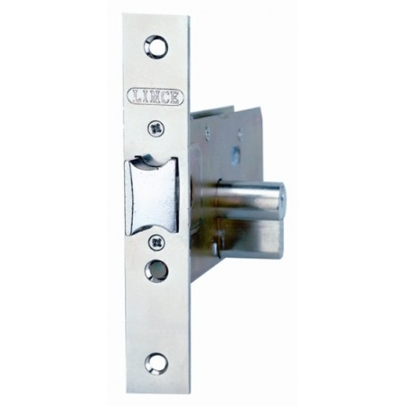 Cerradura Metalica Embutir 23X60Mm 5557/60 Inox Zocalo Lince