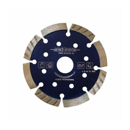 Disco Corte General Obra 115X2,5X12 Mm Diamante  MacoDiamante