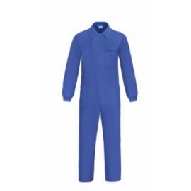 Mono Trabajo T58 100%Algodon  Azul L1000 Tapeta Cremallera