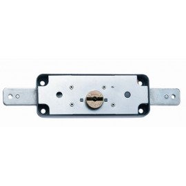 Cerradura Metal Sobreponer 1511B Acero Cincado Puerta Metalica Basculante Mcm