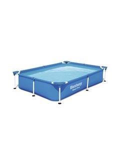 Piscina Pvc Rectangular 221X150X43Cm Infantil 1200Lt Splash Fp