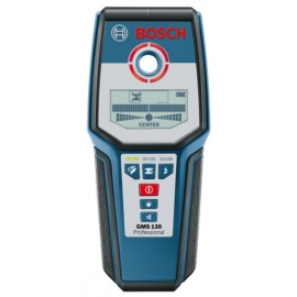 Detector Hierro-Madera-Cable Hasta 12Cm Prof Gms 120 Bosch