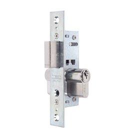 Cerradura Metalica Embutir 23X15Mm 220115Hz Cincado  Picaporte Tesa