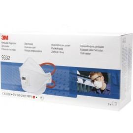 Mascarilla Proteccion Ffp3 Plegada Con Valvula