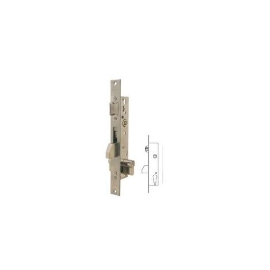 Cerradura Metalica Embutir 22X20Mm 2216203Ai Inox Rodillo/Palanca Deslizante Tesa