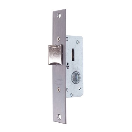 Cerradura Metalica Embutir 22X20Mm 221528Ai Inox Palanca Deslizante Tesa