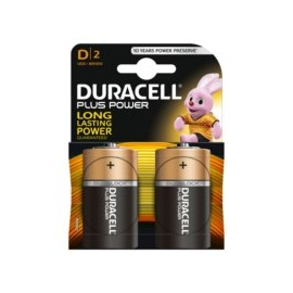 Pila Alcalina Lr20 1,5V D Power Plus Duracell 2 Pz