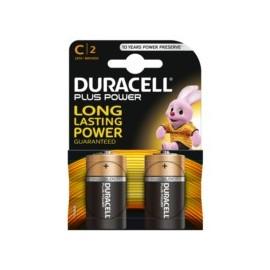 Pila Alcalina Lr14 1,5V C Power Plus Duracell 2 Pz