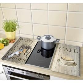 Tabla Cocina 30X52Cm Proteccion Vitroceramica Vidrio Desayuno Wenko