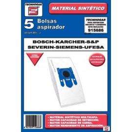 Bolsa Aspirador Papel Bosch-Siemens-Ufesa Thogar 5 Pz 915686