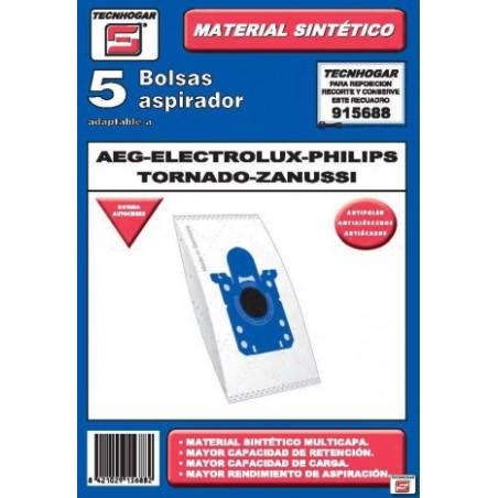Bolsa Aspirador Papel Aeg-Elect-Philips Thogar 5 Pz 915688