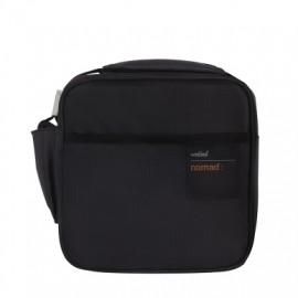Bolsa Porta Alimentos 2Hermeticos  Lunch Bag Negro/Gris Poliester Valira