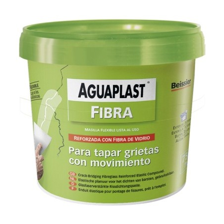 Masilla Restaurancion Fibra/Vidrio 750 Ml Gris Aguaplast
