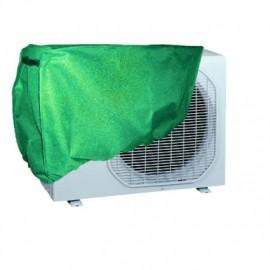 Funda Proteccion  90X55X30Cm Aire Acondicionado Natuur Pvc Verde  Ajustable Nt79368