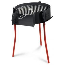 Barbacoa Carbon 50 Cm Redonda Paellero Rustica La Ideal