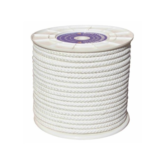 Cuerda Trenzada  10Mm Nylon Blanco Mate Hyc 100 Mt