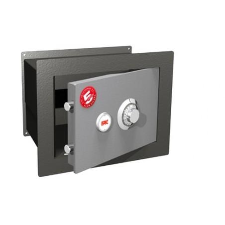 Caja Fuerte Seguridad Empotrar Mecanica 240X350X220Mm 101-M Fac