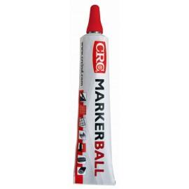 Marcador Pintura Permanente 50 Ml Rojo Tubo