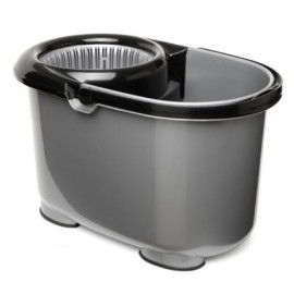Cubo Agua Escurridor Automatico Tatay Gris Twister Rect 11037.