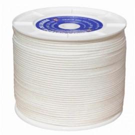 Cuerda Trenzada  05Mm Polipropileno Blanco Hyc 400 Mt
