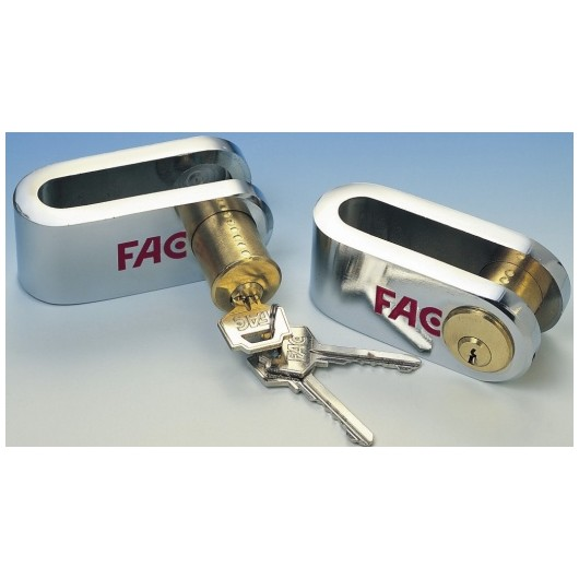 Candado Seguridad  Pletina Calibrada 40X10Mm 506/50 Cromado Fac