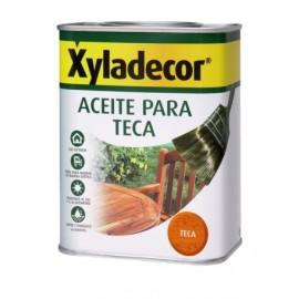 Aceite Teca Protector 750 Ml Incoloro Xyladecor
